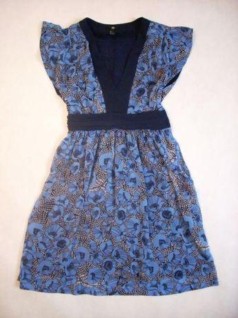 H&M sukienka Zwiewna Elegancka j NOWA 34 XS 36 S
