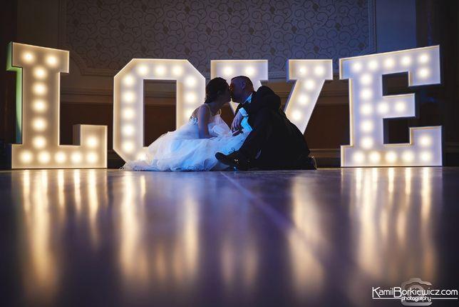 Litery LOVE napis LOVE 120cm wys. - wynajmę