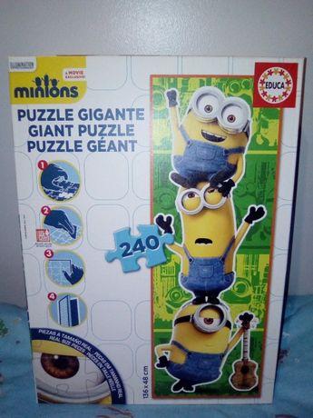 Puzzle gigante Minions 240 peças