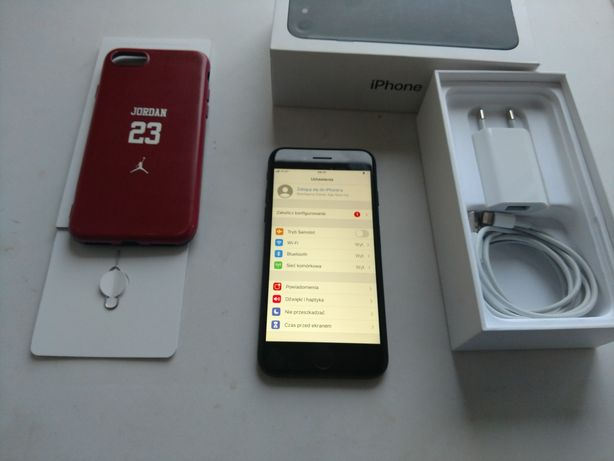 IPHONE 7 32GB komplet, stan dobry, każda sieć