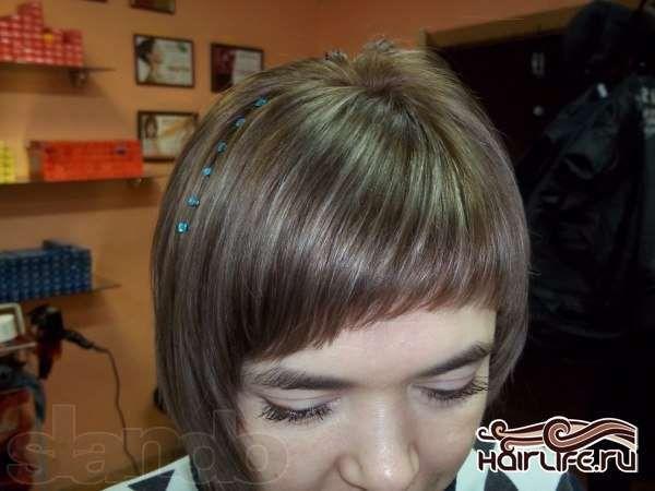 стразы для волос