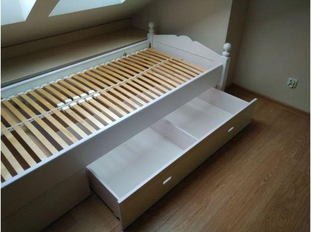 Łóżko drewniane 90 cm (nie IKEA)