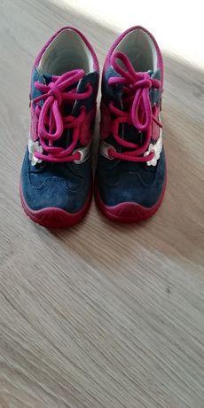 Buty dla dziewczynki na wiosnę rozmiar 24
