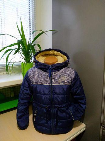Зимняя курточка на овчине