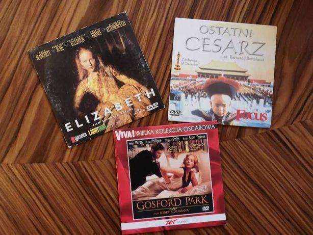 """Ostatni cesarz"", ""Elizabeth"", ""Gosford Park"" - DVD"