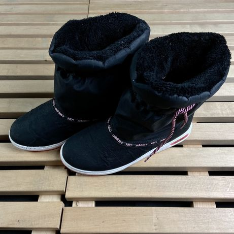 Женские ботинки сапожки дутики Adidas Neo x Nike размер 38.5 Ориг