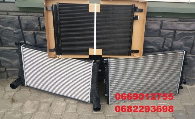 Радиаторы охлаждения интеркулер кондиционер VW GOLF 7 12- USA радіатор