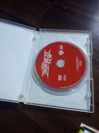 Lego ninjago movie płyta dvd