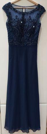 sukienka na wesele suknia balowa wieczorowa długa maxi