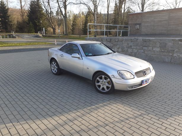 Mercedes SLK*Cabrio*Zamiana*2,0cm*NiskiPrzebieg*Klima*Tempomat*Usb*Abs