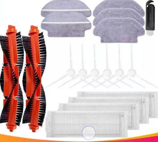 Zestaw szczotek i filtrów do Xaomi Viomi V2, V2 Pro, V3, Vacuum Mop P