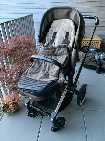 Wózek Cybex Priam Manhattan Grey 2in1 set