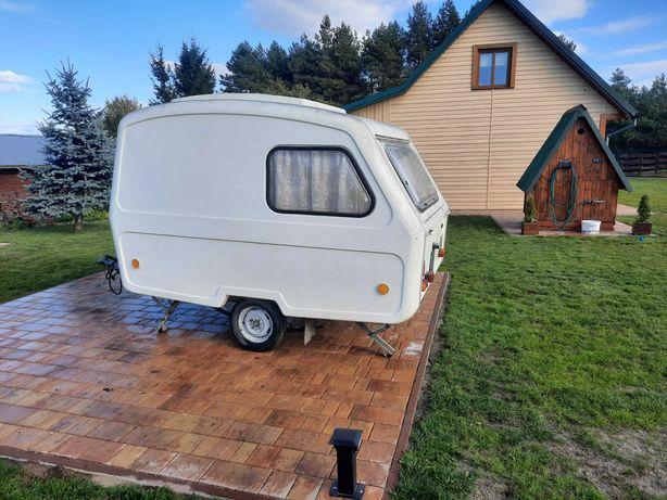 Camping przyczepa Campingowa  Niewiadów Namiot