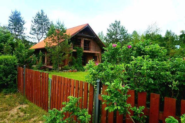 Dom Głogowy na Mazurach w bezpośrednim sąsiedztwie lasu jezioro #13