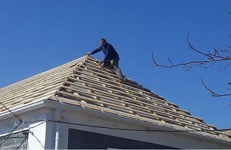 Ремонт крыш. Устраним течь крыши.
