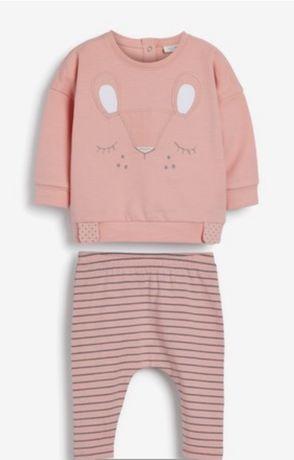 Next , комплект одягу для дівчинки 6-9 міс.