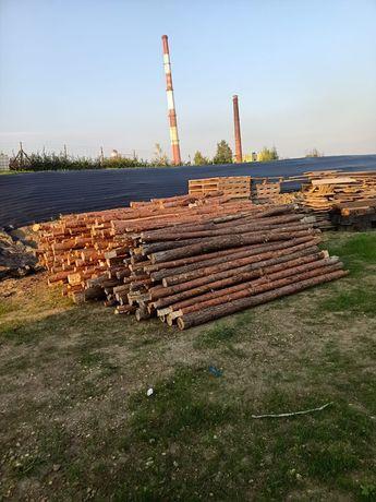 Stemple budowlane grube 2,90-3,00m
