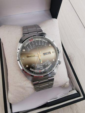 Zegarek Orient Cesarski Królewski Patelnia Cyrkonie kalendarz