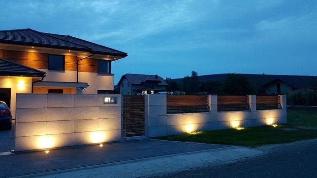 Ogrodzenie beton 80x25x40 Beton architektoniczny bloczki ogrodzeniowe