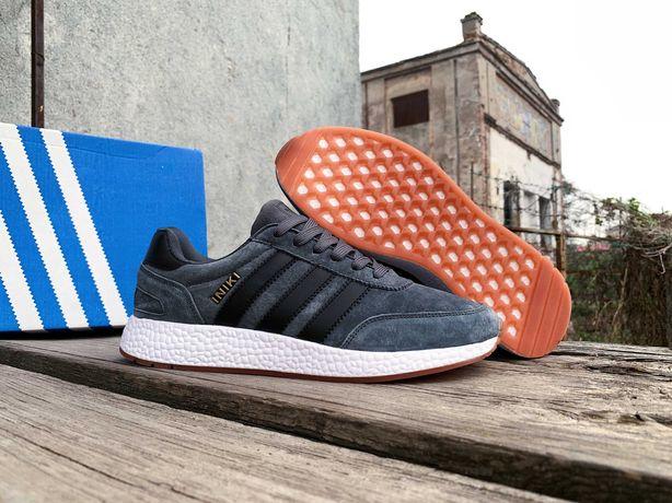 Мужские осенние кроссовки Adidas Iniki (41-46) ТОП цена и качество!