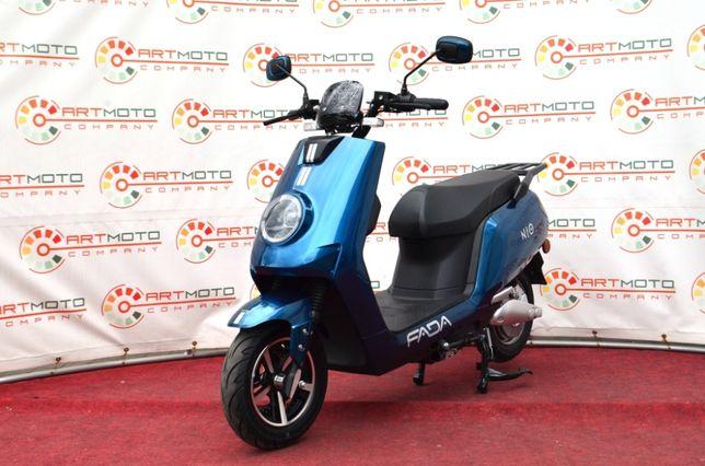Новинка 2020 Электроскутер FADA NIO 1500W (скутер, мопед, мотороллер)