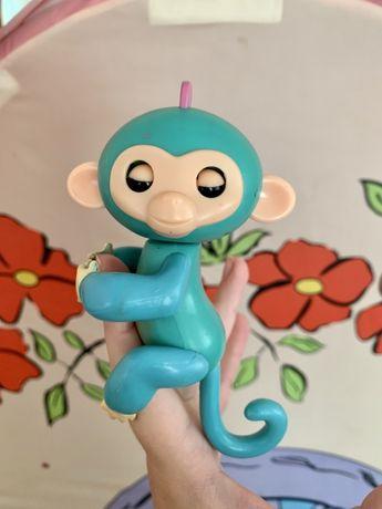 Интерактивная обезьянка на палец, мавпочка на палець, happy monkey