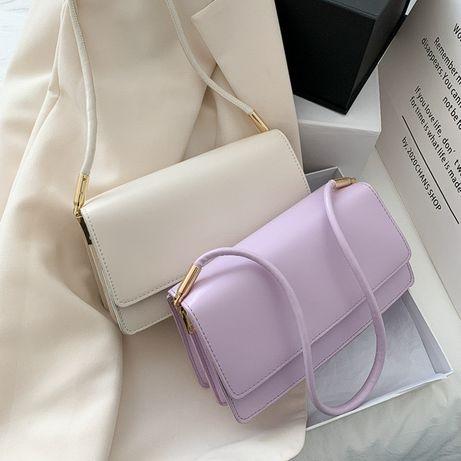 Трендовая женская сумочка во французком стиле в четырех цветах
