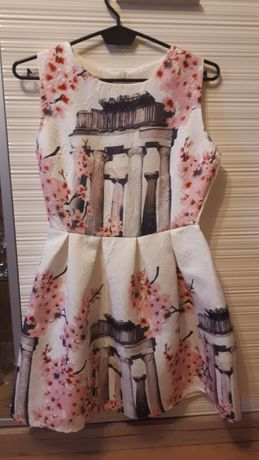 Rozkloszowane sukienka 34