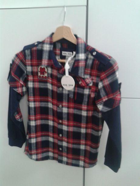 Koszula chłopięca 134-140