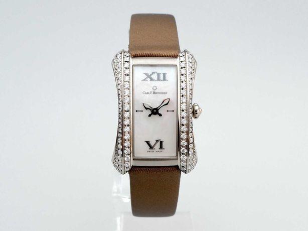 Carl F. Bucherer Alacria Midi 18K White Gold Diamonds