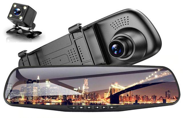 Видеорегистратор-Зеркало DVR L9000. 2 камеры.Лучшее Качество и Цена!