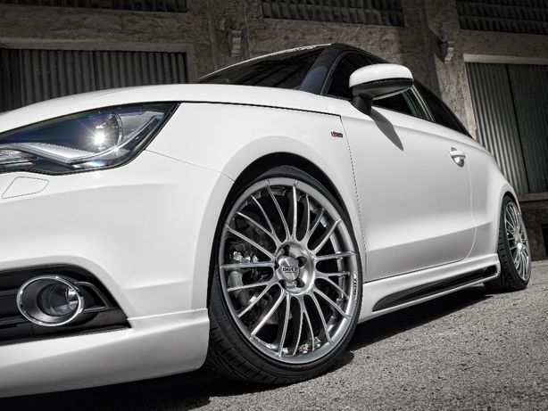 '17 DOTZ Rapier Silver 5x100 VW, Audi, Seat, Skoda, opony 7mm, wysyłka