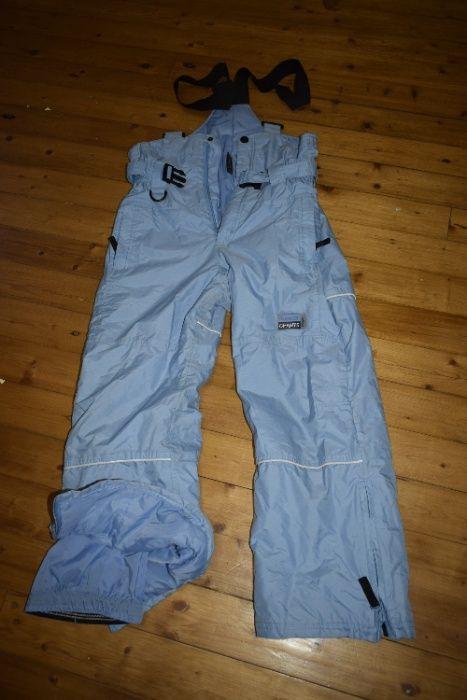 Комбинезон штаны зимние на рост 152 см Васильков - изображение 1