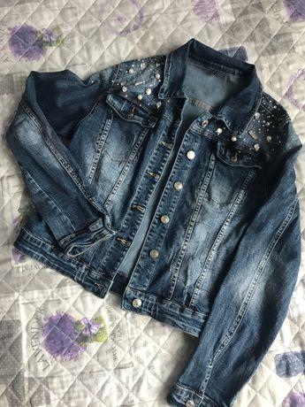 Куртка джинсовая, джинсовка ветровка