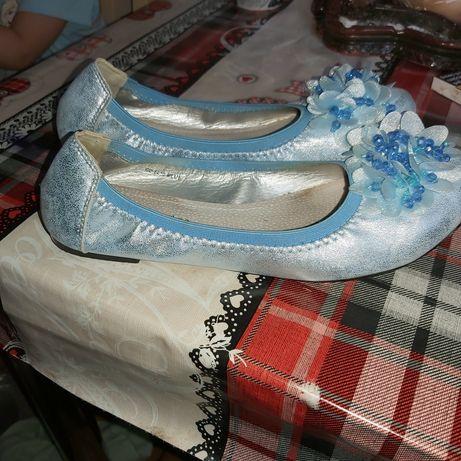 Balerinki błękitne