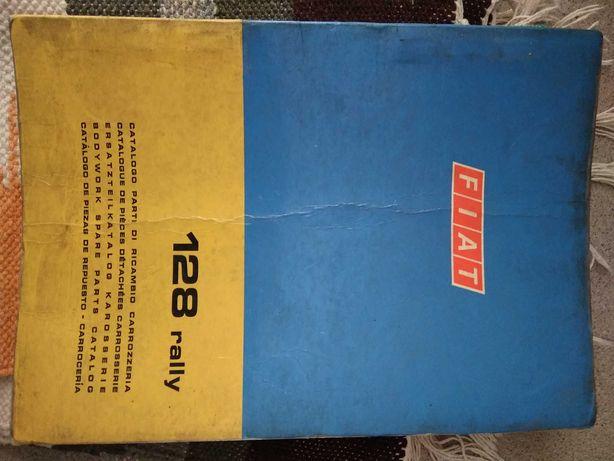 Manuais de oficina Fiat Oficiais de fábrica ( 127 / 850 / 128 etc)