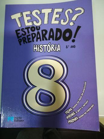 Livro de testes de história 8 ano.