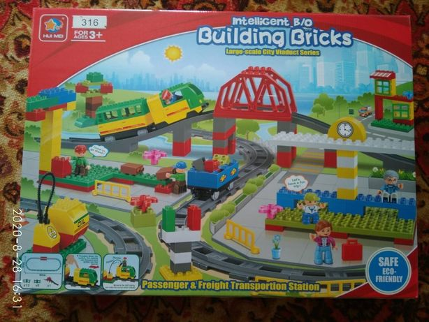 Конструктор LEGO DUPLO поезд аналог