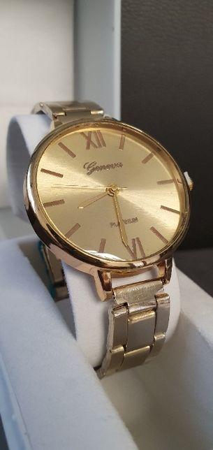 Elegancki złoty zegarek GENEVA