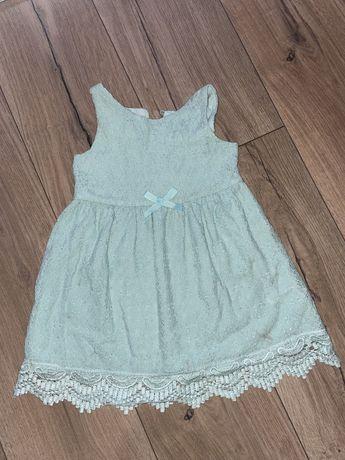 Плаття платье бірюза 92 розмір, Hm