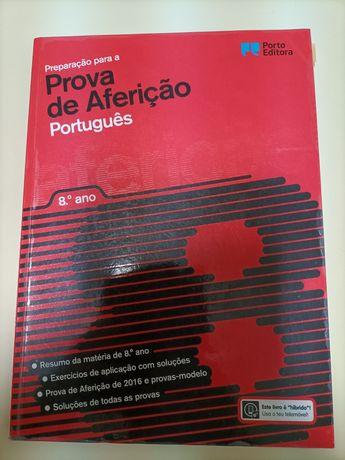 Livro de português de testes  do 8.ano