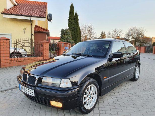 BMW E36 Compact klima, grzane fotele, szyberdach, super stan