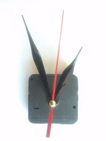 Механизм для настенных часов 5 мм плавный бесшумный ход со стрелками