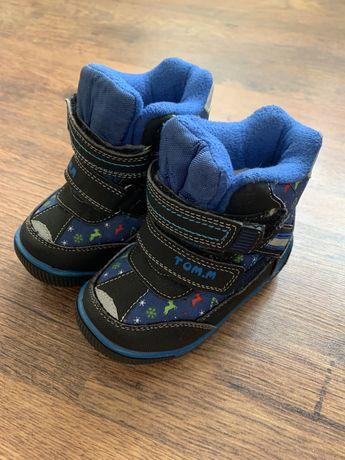 Зимние ботиночки , состояние новых. 23 р