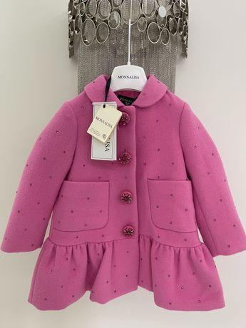 Пальто MONNALISA, 2-3 года, новое, оригинал.