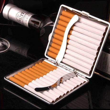 Надёжный портсигар для хранения сигарет. Кейс на 20 сигарет