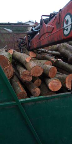 Drewno kominkowe opałowe Buk