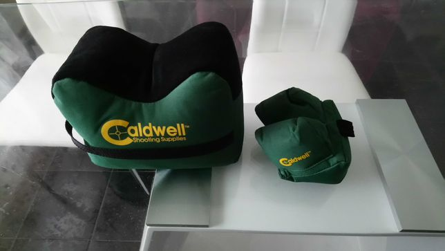 Apoios Caldwell Benchrest frontal + traseiro