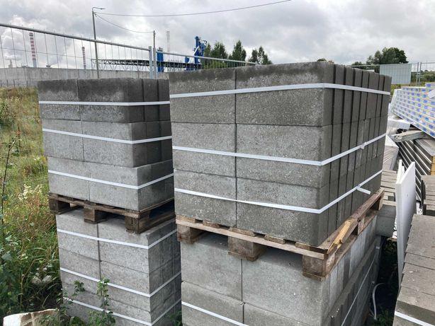 Bloczki betonowe, fundamentowe kl15 12x24x38 Grajewo