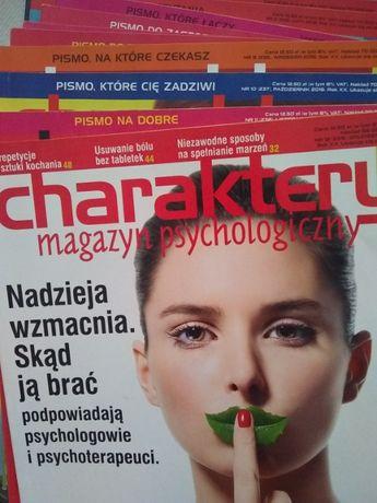 """Archiwalne nr czasopisma """"Charaktery"""" - 1-12.2016"""